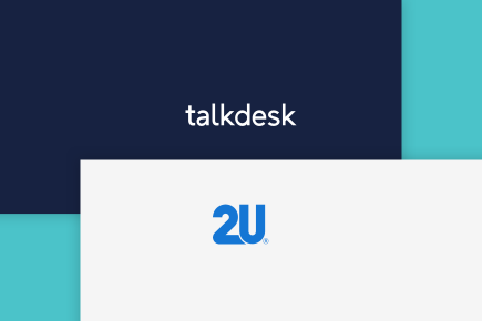2U, Inc. Leverages Talkdesk for 1,150 Student-Facing Employees