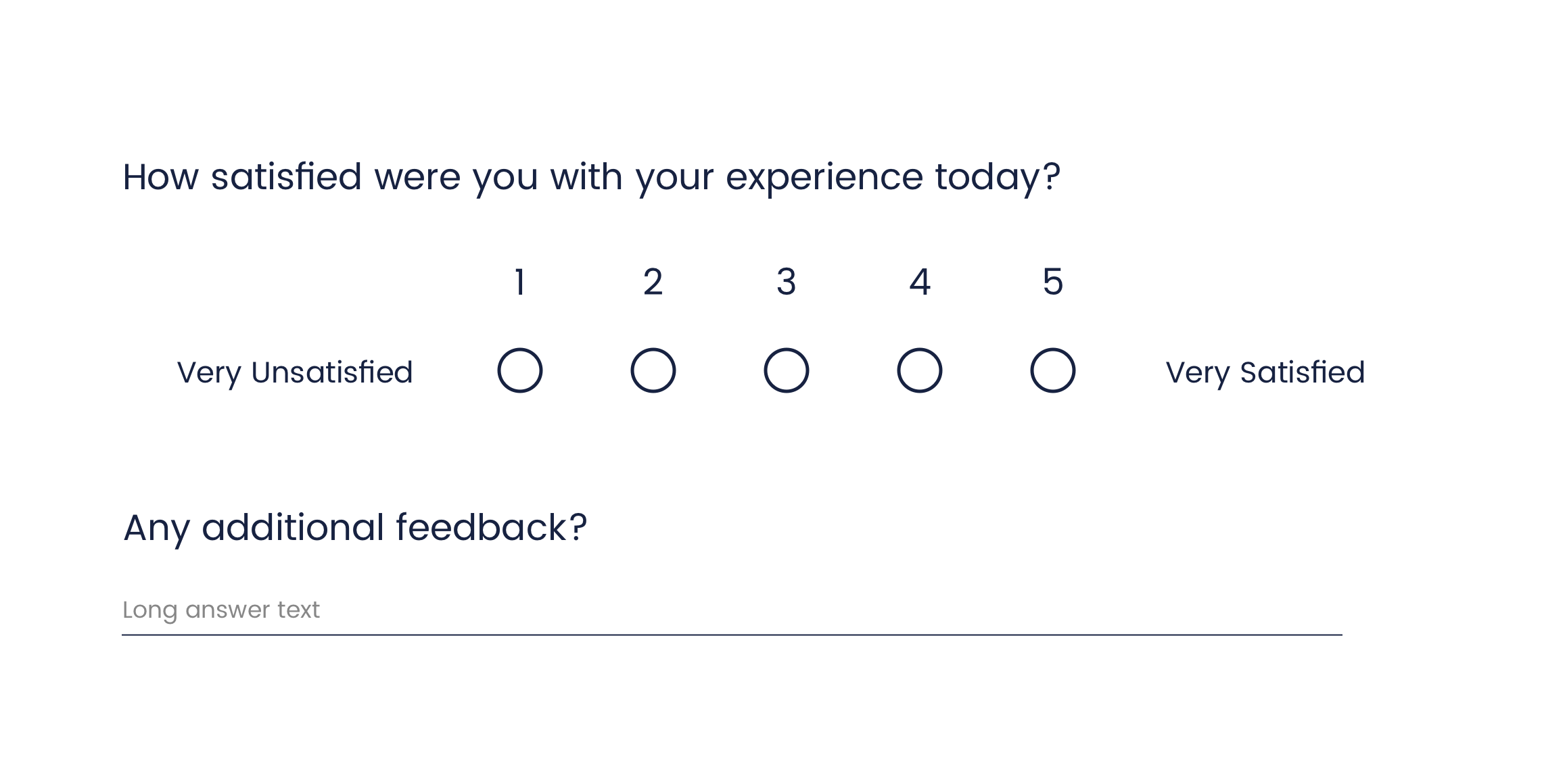customer satisfaction CSAT survey template example