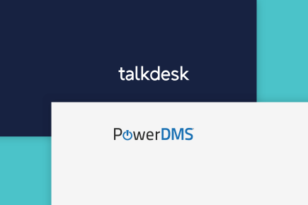 PowerDMS Boosts Performance with Talkdesk and Salesforce